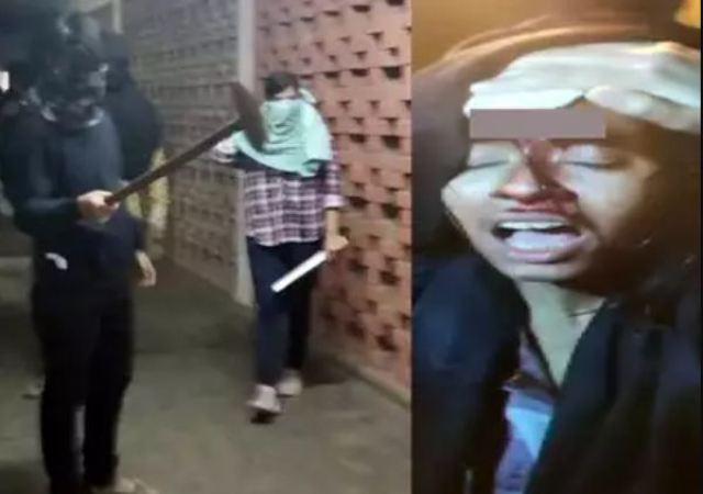 JNU कैंपस में बवाल, चेहरे पर नकाब बांधे लोगों ने छात्रों और शिक्षकों पर किया हमला