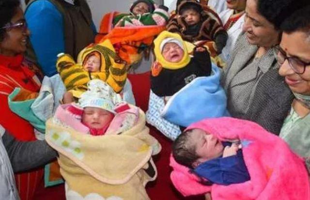 एक जनवरी को दुनिया में पैदा हुए 386000 बच्चे, अव्वल रहा भारत