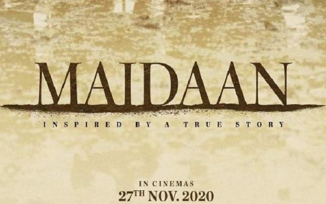 Maidaan Teaser poster: अजय देवगन की फिल्म 'मैदान' का पोस्टर जारी