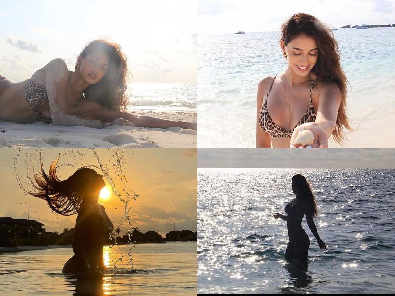 रेत से लिपटी Disha Patani ने शेयर किया बेहद बोल्ड लुक, तस्वीरें देख फैंस को आया पसीना