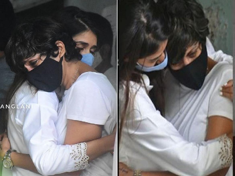 Raj Kaushal death: पति की मौत पर टूट कर बिखर गई मंदिरा,, मिलने पहुंची एक्ट्रेस … देखें तस्वीरें