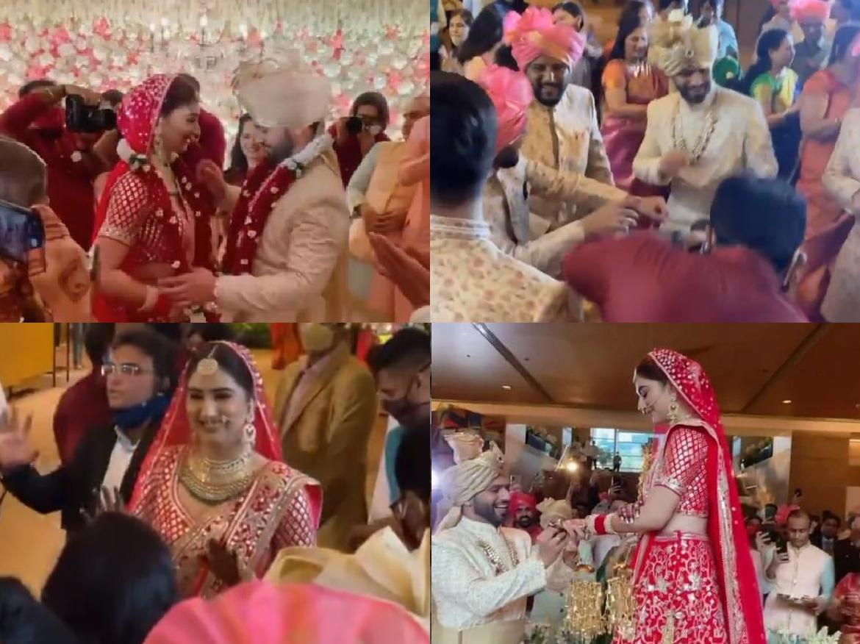 Rahul-Disha Wedding: राहुल वैद्य और दिशा परमार ने लिए 7 फेरे, शादी का VIDEO हुआ वायरल