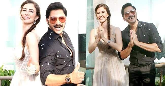 Georgia और Shreyas की फिल्म 'वेलकम टु बजरंगपुर' की शूटिंग शुरू, इनसाइड वीडियो हुआ वायरल