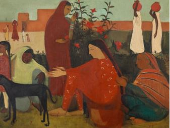 'इन द लेडीज एनक्लोजर' अमृता शेरगिल की पेंटिंग ने बनाया वर्ल्ड रिकॉर्ड,37.8 करोड़ रुपये में बिकी
