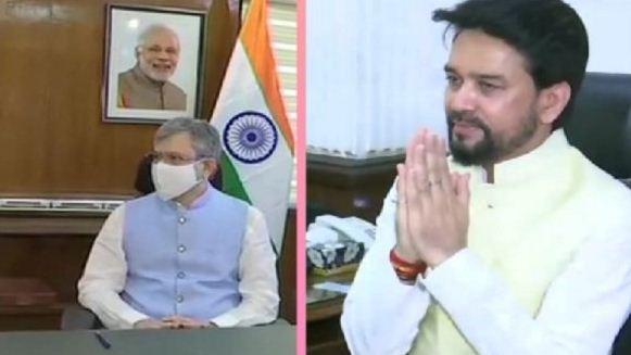 PM Modi Cabinet Expansion: अनुराग ठाकुर, अश्विनी वैष्णव समेत कई मंत्रियों ने पदभार संभाला