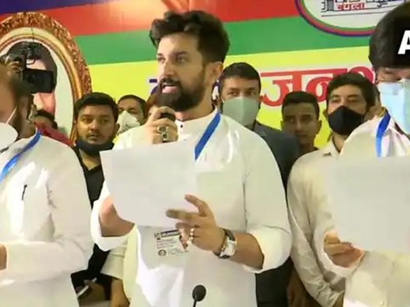 लोजपा ने की रामविलास की पहली बरसी पर बड़े आयोजन की तैयारी, चिराग ने भेजा पीएम मोदी समेत शीर्ष नेताओं को न्योता
