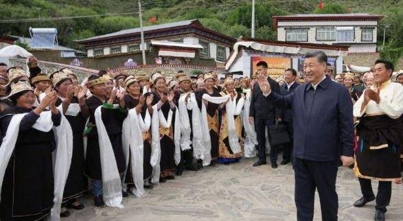 अरुणाचल प्रदेश की सीमा से लगे तिब्बती शहर में क्या झांकने आए थे राष्ट्रपति शी जिनपिंग ?