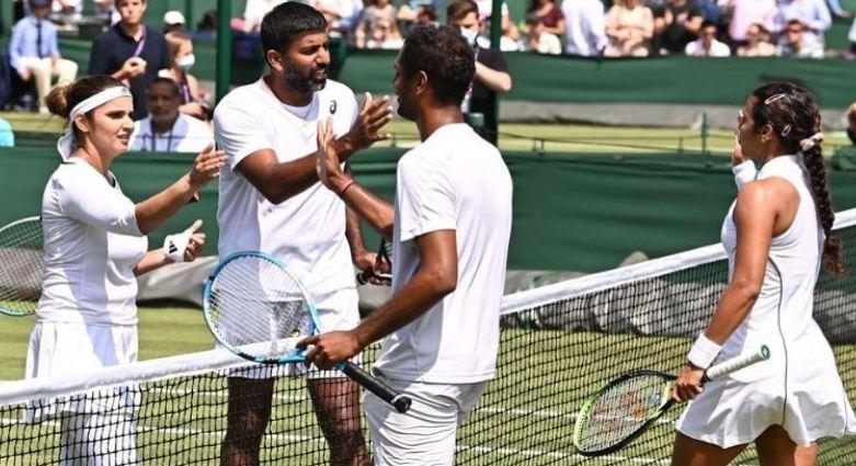 Wimbledon 2021: सानिया-बोपन्ना मुकाबला हार विंबलडन से बाहर,ग्रैंडस्लैम में भारतीय चुनौती भी समाप्त