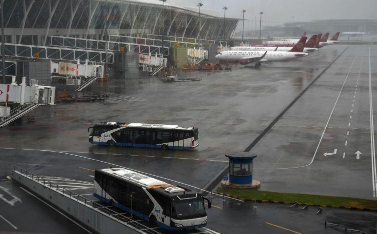 Typhoon In-fa: तूफान 'इन-फा' की दस्तक ने चीन के पार्कों,बाजार और स्कूलों को किया बंद