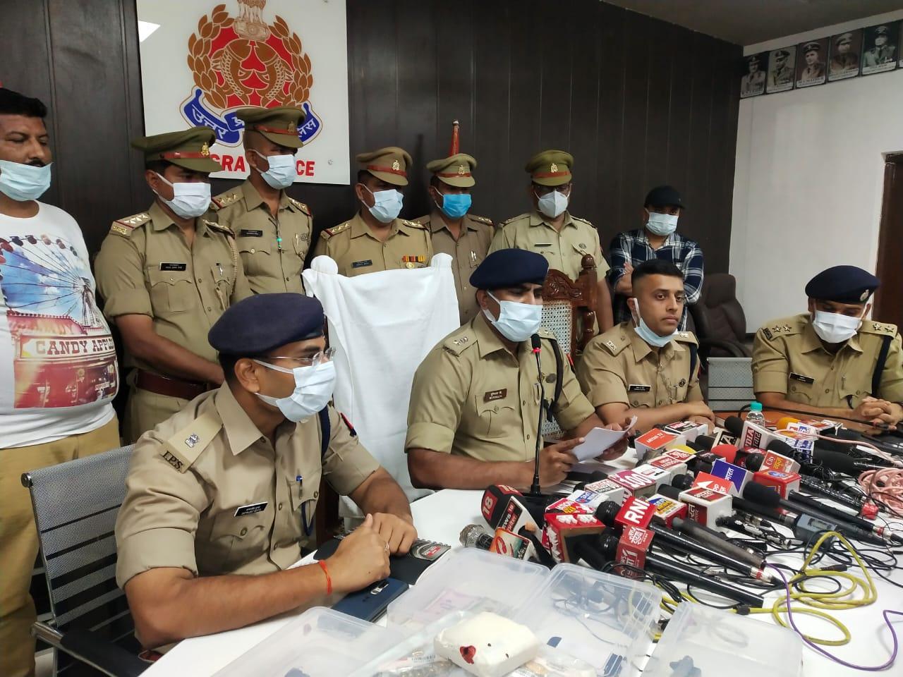 मणप्पुरम गोल्ड लोन कंपनी में डकैती: पांच बदमाशों ने की थी वारदात, 7.5 किलो सोना व नकदी बरामद