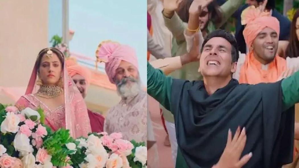 Akshay और Nupur Sanon के इस सॉन्ग में दिखी मोहब्बत झलक, अक्की ने शेयर किया VIDEO