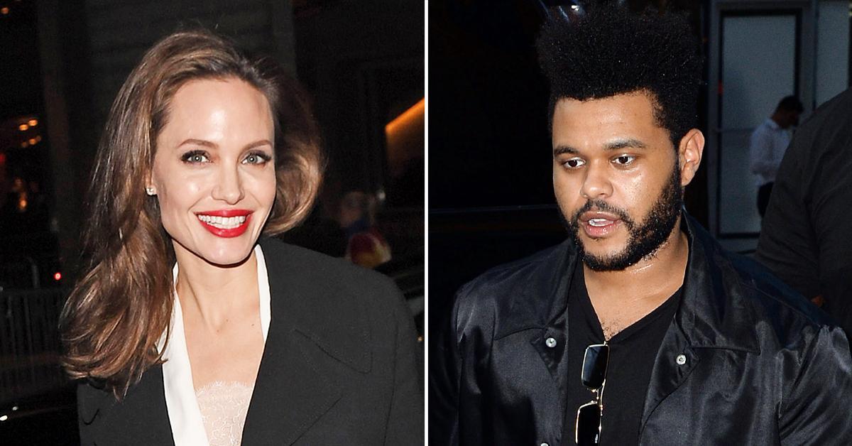 Angelina Jolie कर रही 15 साल छोटे द वीकेंड को डेट, डिनर डेट की तस्वीरें हो रही वायरल