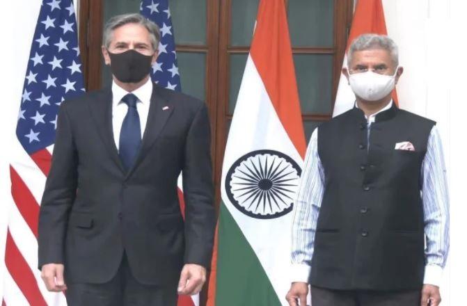Antony Blinken India Visit : भारत और अमेरिका मिलकर दुनिया से कोरोना महामारी का करेंगे खात्मा