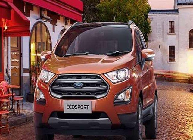 Ford Ecosport के टाइटेनियम वैरिएंट में कंपनी ने किया ये बदलाव,देखें अब कैसी दिख रही है