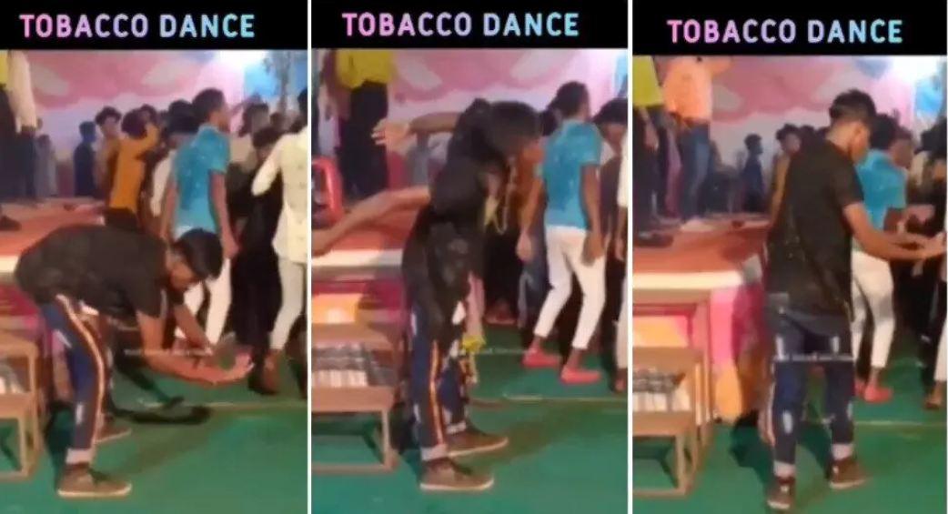 जब लड़का करने लगा Tobacco Dance, VIDEO देख आप नहीं रोक पाएंगे अपनी हंसी