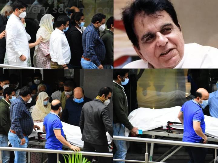 Dilip Kumar death: राजकीय सम्मान के साथ सांताक्रूज कब्रिस्तानकिया में जाएगा अंतिम संस्कार, सीएम ने दी जानकारी