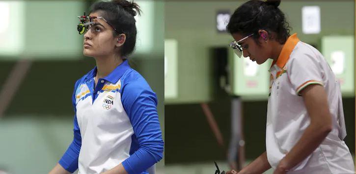 Tokyo Olympic: देश की ये दो बेटियां जो नहीं लगा पाईं मेडल पर निशाना, पिस्टल में आई तकनीकी खराबी बनी राह में रोड़ा