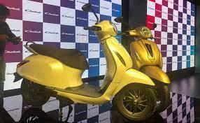 बजाज ऑटो ने नागपुर में इलेक्ट्रिक स्कूटर चेतक की बुकिंग शुरू की