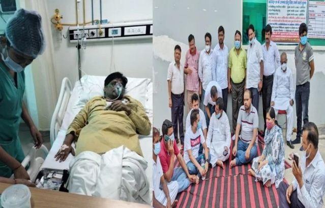 गाजियाबाद: भाजपा कार्यसमिति की बैठक में जमकर चले लात-घूंसे, पदाधिकारी हुए घायल
