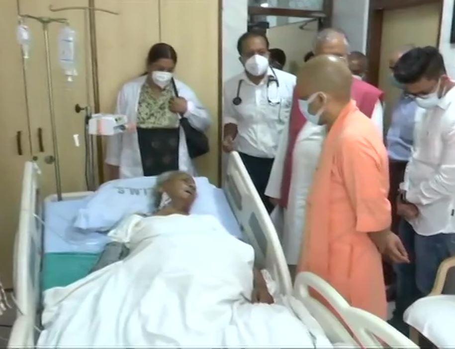 कल्याण सिंह की हालत नाजुक, एसजीपीजीआई में डॉक्टर दे रहे हैं ऑक्सीजन थेरेपी