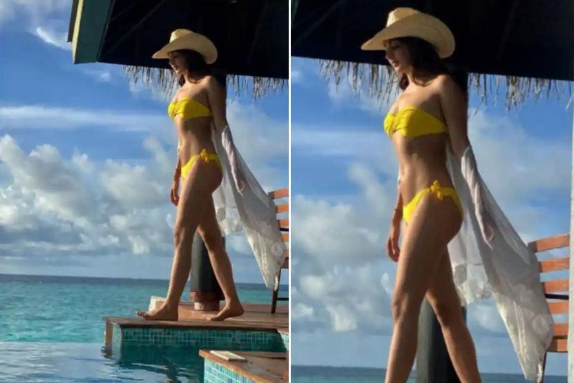 Kiara Advani ने शेयर किया Yellow Bikini की बोल्ड तस्वीर, इंटरनेट पर हुआ हंगामा