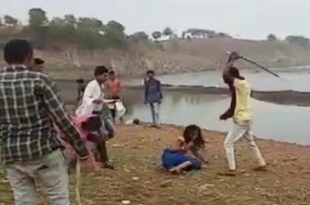 मध्ययप्रदेश: युवती की पिटाई का वीडियो सोशल मीडिया पर वायरल, बर्बरता देख कांप उठेगी रूह, देखें वीडियो