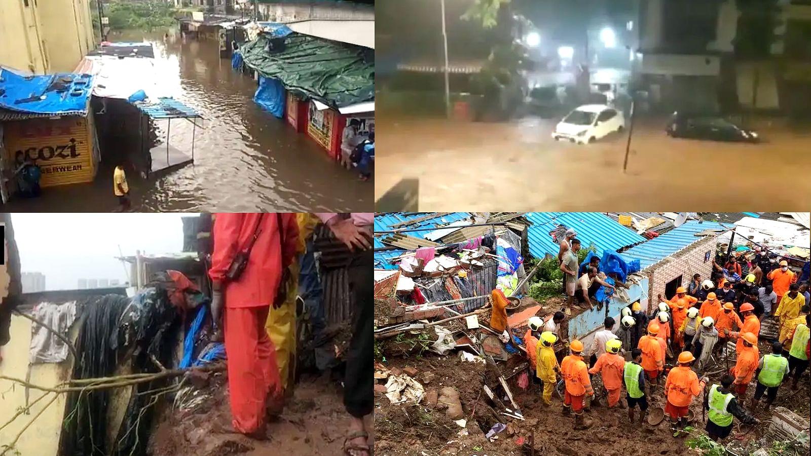 बारिश का कहर: मुंबई में इमारत गिरने से हुआ बड़ा हादसा, 3 की मौत 10 घायल