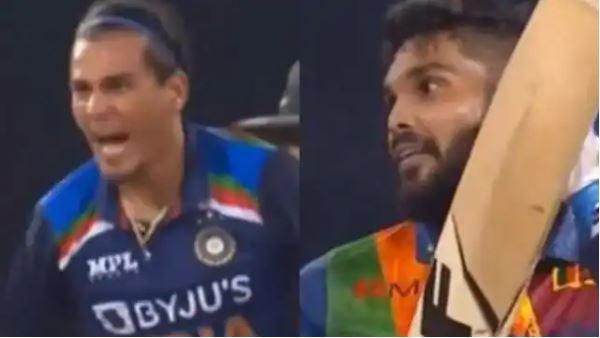IND Vs SRI: राहुल चाहर की अक्रामकता पर भारी पड़ी इस श्रीलंकाई खिलाड़ी की खेल भावना