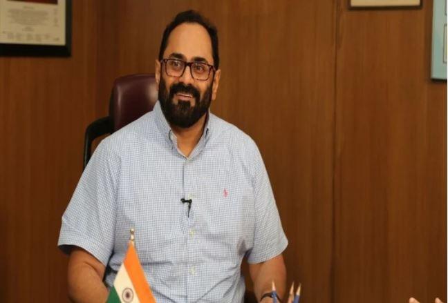 अब नए आईटी राज्यमंत्री राजीव चंद्रशेखर के ट्विटर हैंडल से हटा ब्लू टिक
