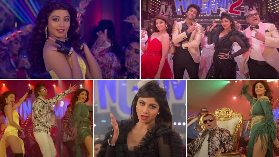 Hungama 2 का टाइटल सॉन्ग Hungama Ho Gaya हुआ रिलीज, Shilpa Shetty दिखी बेहद हॉट