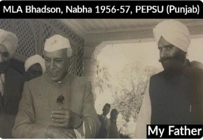 पंजाब कांग्रेस का अध्यक्ष बनने के बाद सिद्धू ने क्यों शेयर की नेहरू के साथ पिता की तस्वीर, जानिए सियासी मायने