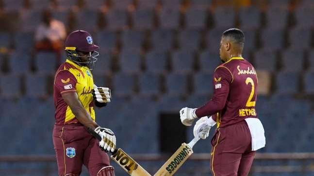 ब्रावो रसेल और हेटमायर ने एक साथ किया आस्ट्रेलिया पर फायर, दूसरे टी20 मैच में फिर हराया