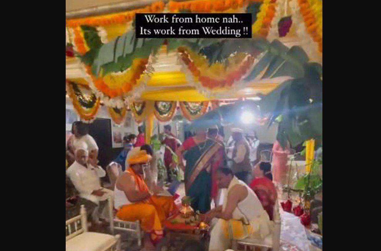 Viral Video: दूल्हा मंडप में राश्मों पर नहीं Work From Home पर दे रहा था ध्यान, दुल्हन ने किया…