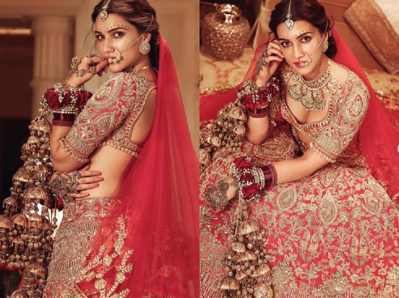 क्या Kriti Sanon कर रही है शादी, दुल्हन बन शेयर की तस्वीरें फैंस कर रहे सवाल …