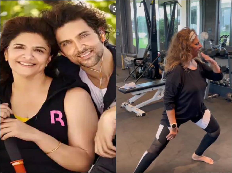 VIDEO: Hrithik Roshan ही नहीं बल्कि उनकी मां भी है सुपर डांसर, Dance मूव्स देख आप भी रह जाएंगे दंग