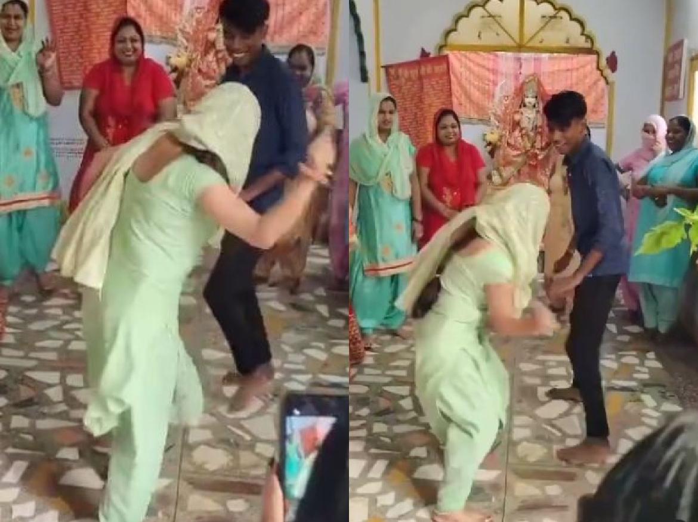 VIRAL VIDEO: शादी की रशमों के बीच भाभी ने कर दी देवर की लकड़ी से पिटाई, और फिर …
