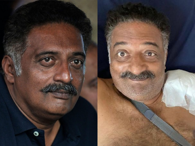 Accident के बाद Prakash Raj ने कराई Surgery, तस्वीर शेयर कर बोले- devil is back…