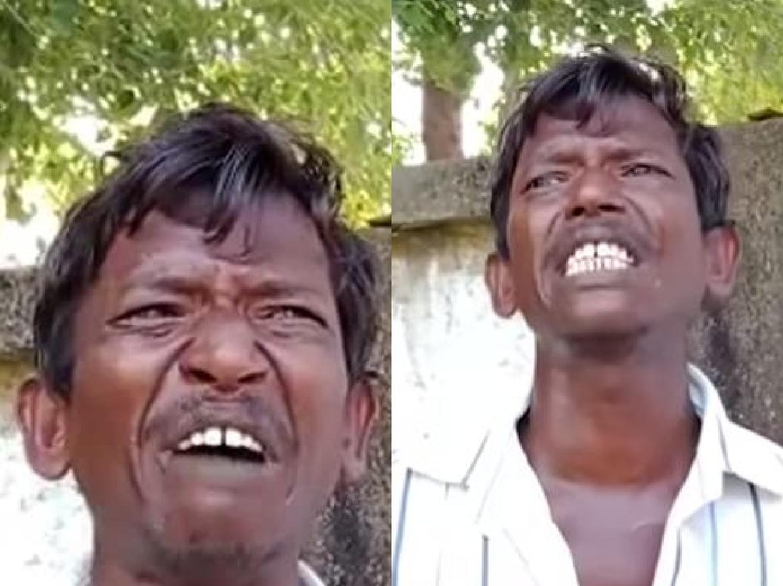 VIDEO: पत्नी ने पटक-पटक कर की पति की धुलाई, रोते हुए SP से शख्स बोला नहीं मिला इंसाफ तो दे दूंगा जान