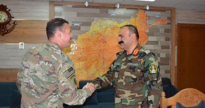Afghanistan: तालिबान के साथ जारी जंग के बीच US आर्मी के कर्नल से मिले अफगान सेना प्रमुख