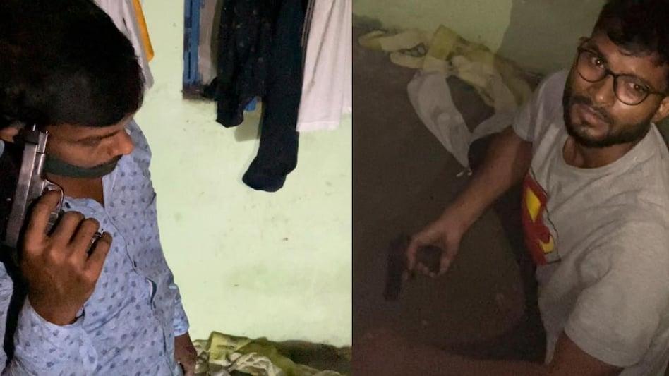 Delhi Police ने करीब 3 घंटे के ड्रामे के बाद ,दो बदमाशों को एनकाउंटर किया ढेर