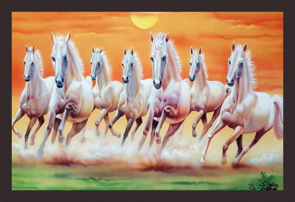 वास्तु टिप्स: बेहतर किस्मत और सकारात्मक ऊर्जा के लिए अपने घर में लगाएं सात घोड़ों की पेंटिंग