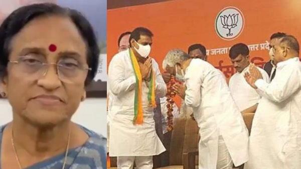 जितेन्द्र सिंह को पार्टी ज्वॉइन कराकर जानें बीजेपी नेतृत्व ने प्रयागराज से सांसद रीता बहुगुणा जोशी को क्या दिया संदेश?