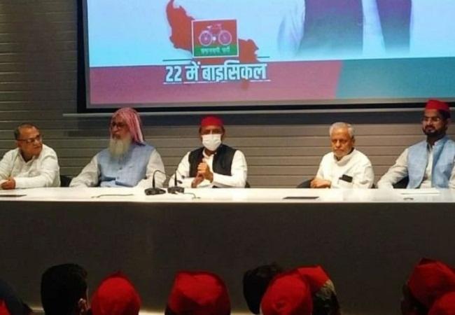 UP Assembly Election 2022: मुख्तार के बड़े भाई और अंबिका चौधरी सपा में हुए शामिल