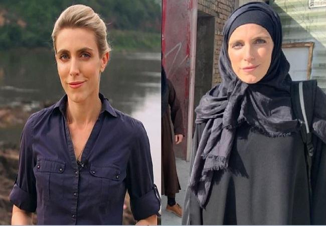 Afghanistan crisis : तालिबान का साइड इफेक्ट, 24 घंटे में बदल गई महिला रिपोर्टर ड्रेस