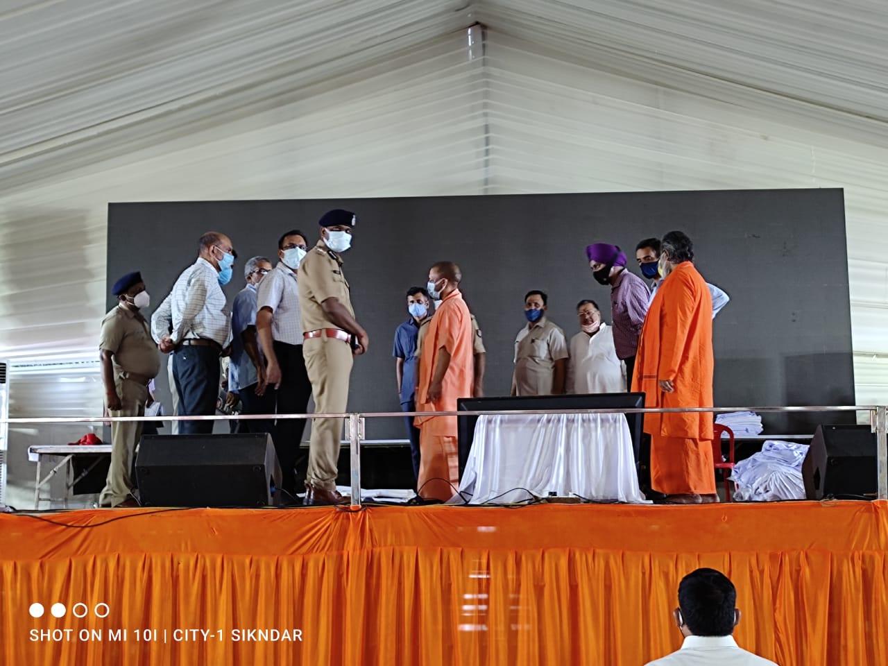 UP: शनिवार गोरखपुर जायेंगे राष्ट्रपति रामनाथ कोविंद, तैयारियों का जायजा लेने पहुंचे सीएम योगी