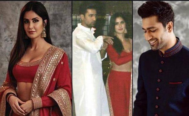 क्या Katrina Kaif ने Vicky Kaushal से सगाई?, इंडियन आउटफिट में तस्वीरें हुई वायरल