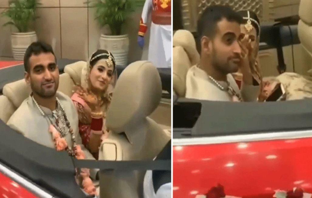 VIDEO: शादी में बह गई उल्टी गंगा, दुल्हन नहीं बल्कि दूल्हा विदाई के टाइम दिखा रोते, और फिर दुल्हन ने किया…