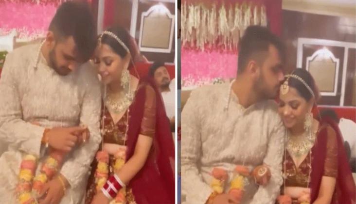 VIRAL VIDEO: शादी की रश्मों के बीच दूल्हा दुल्हन ने की ऐसी हरकत, देख हर किसी को आया प्यार