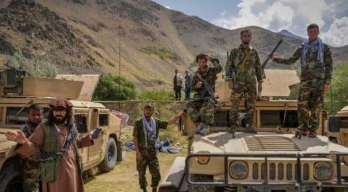Afghanistan Crisis: पंजशीर में बढ़ी अहमद मसूद की ताकत,पूर्व कमांडर्स हेलिकॉप्टर्स से हथियारों का जखीरा ले आए