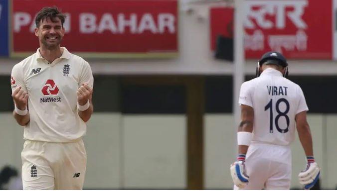 IND Vs ENG: जेम्स एडरसन ढ़ा रहे भारतीय टीम पर सितम, भारत को लगा तीसरा झटका